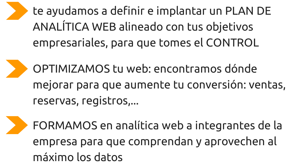 Guiometrics: servicios de analítica digital