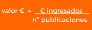 valor económico kpi redes sociales